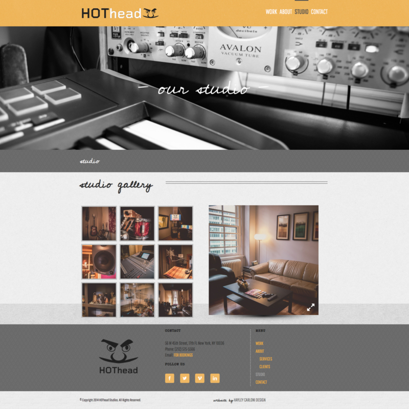 hothead studios | studio