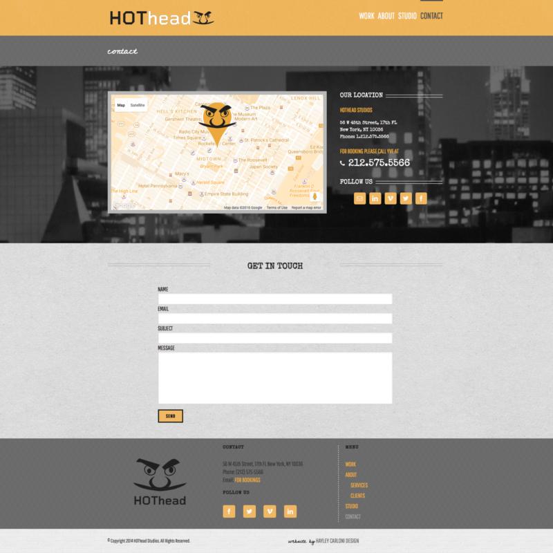 hothead studios | contact