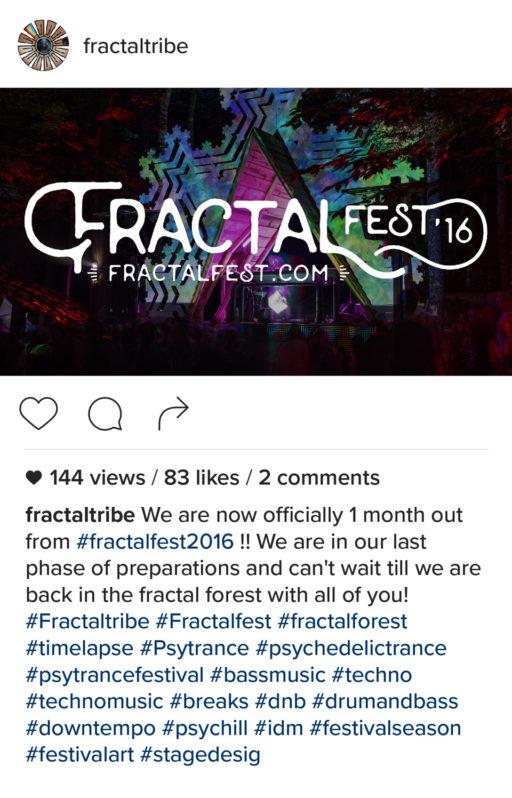 Fractal Fest 2016 Countdown