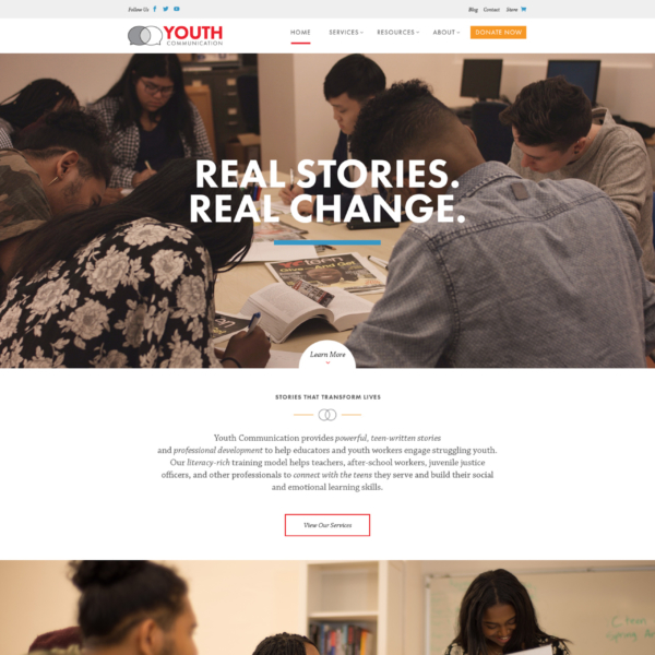 youthcomm.org | home